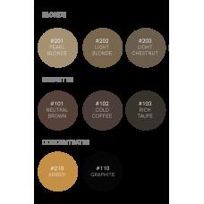 Набор BrowXenna (Brow Henna) — 8 оттенков (флакон)