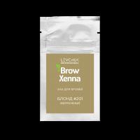 Хна для бровей BrowXenna (Brow Henna) Блонд № 1 (201), саше