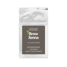 Хна для бровей BrowXenna (Brow Henna) Блонд № 3 (203), саше