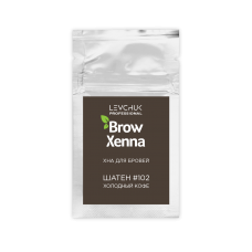 Хна для бровей BrowXenna (Brow Henna) Шатен №2 (102), саше