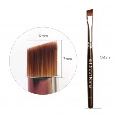 Кисть для брів надточна BrowXenna (Brow Henna) No. 1