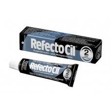 Краска для бровей и ресниц RefectoCil № 2, Иссиня-черный, 15 мл