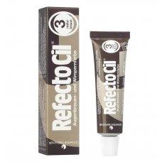 Краска для бровей и ресниц RefectoCil № 3, Натурально-коричневый, 15 мл