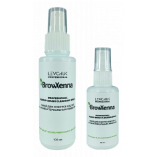 Спрей для очистки кистей с антибактериальным эффектом, BrowXenna, 100 мл