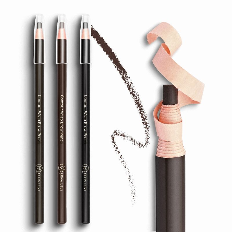 Eyebrow pencil Lena Levi № 10, Dark brown